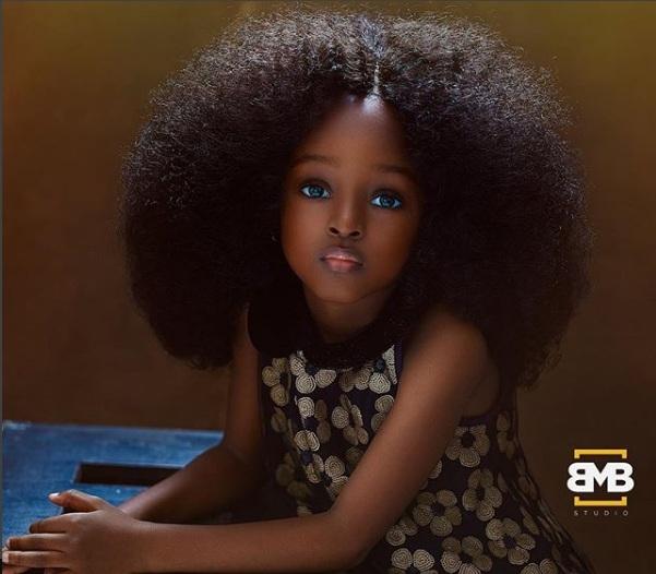 Hallan en Nigeria a la 'chica más bella del mundo'