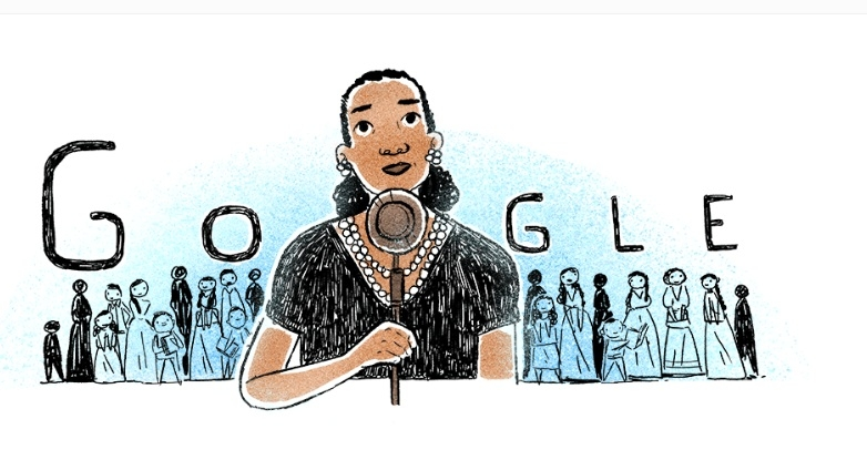 Google celebra con doodle a María Latigo de Hernández