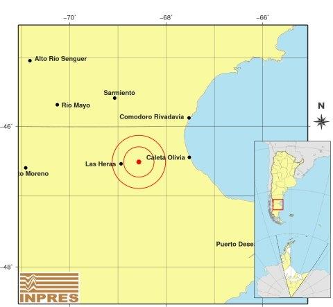 Un fuerte sismo sacudió al norte de Santa Cruz