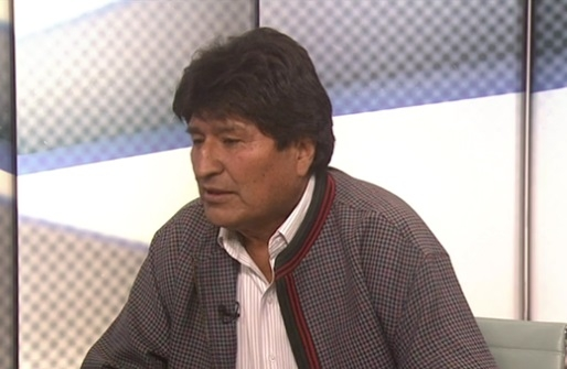 Carmen Aristegui entrevista en vivo a Evo Morales
