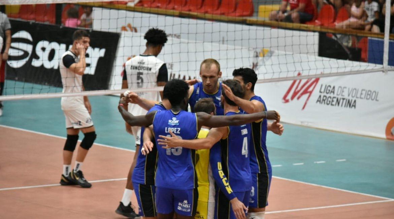 UPCN San Juan Voley tuvo su primer triunfo en la Liga de Vóleibol - Diario La Provincia SJ