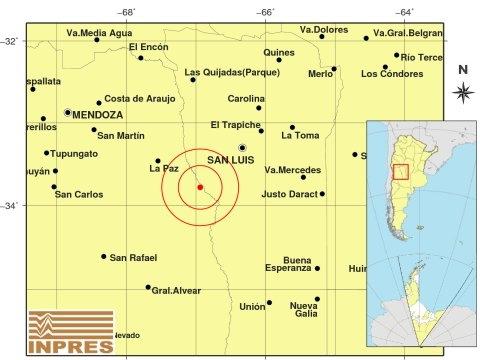 Un fuerte sismo sacudió Mendoza y se sintió en varias provincias