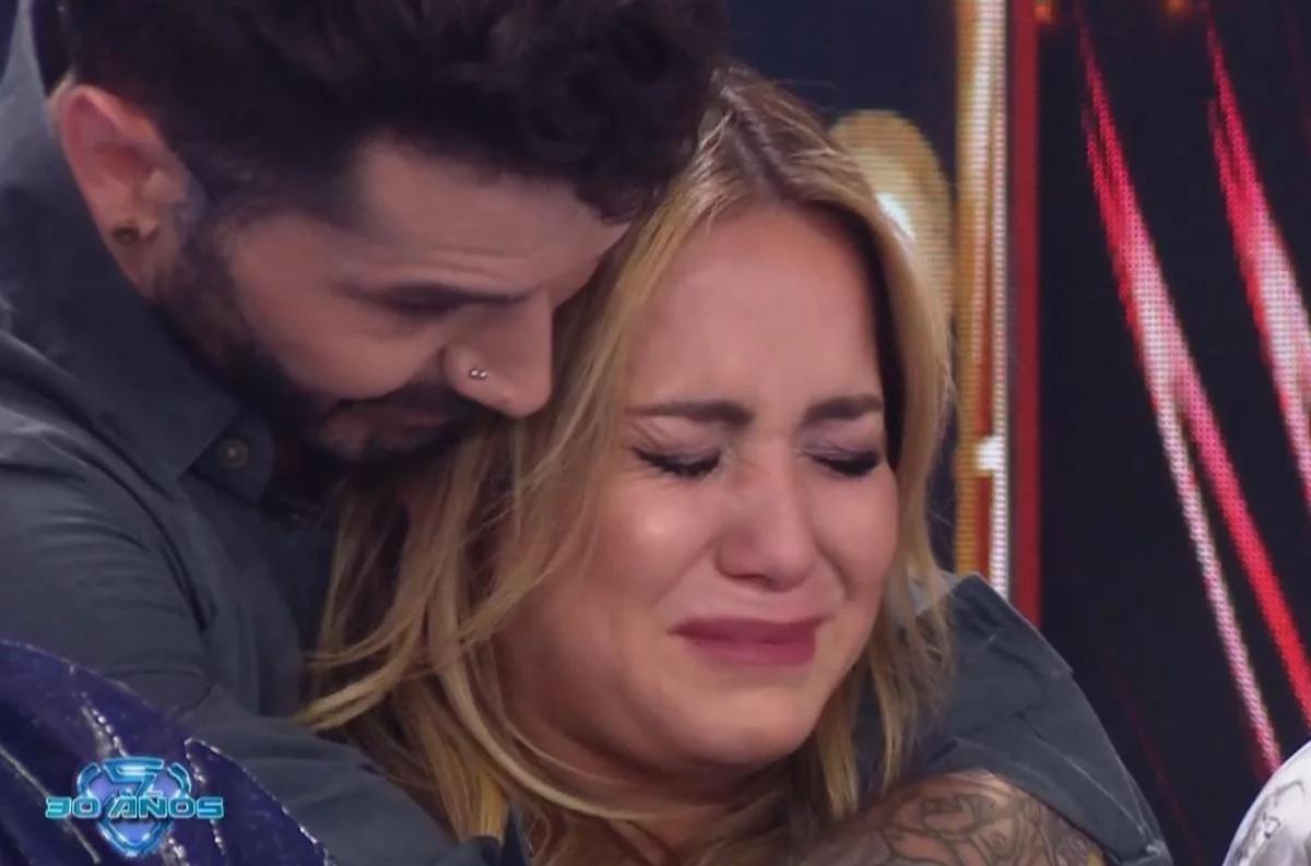 Flor Vigna, emocionada tras las palabras de su ex, Nico Occhiato, en el Bailando