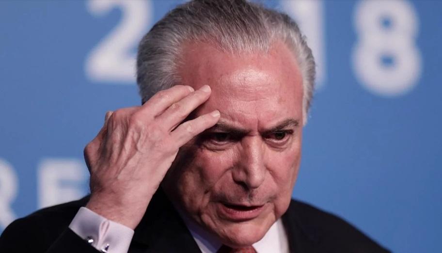 Brasil: detuvieron al expresidente Michel Temer