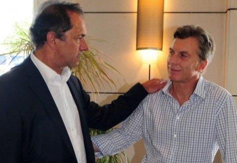 Macri llamó a Scioli, lo convoco para discutir los consensos básicos