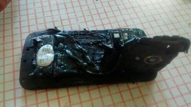 Le explotó el celular mientras dormía y sufrió graves quemaduras — Córdoba