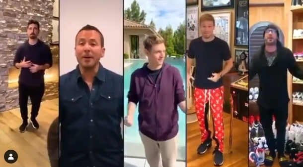 Backstreet Boys cantaron uno de sus éxitos junto a sus hijos