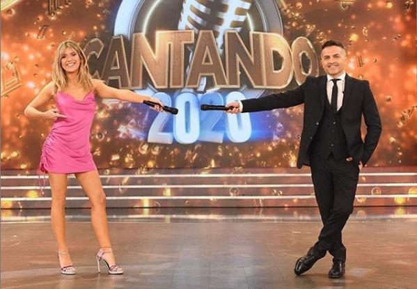 Laurita Fernández y Nicolás Cabré, juntos en un country