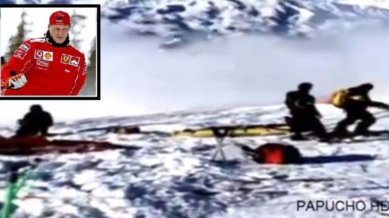Mirá el video del rescate de Schumacher en Los Alpes