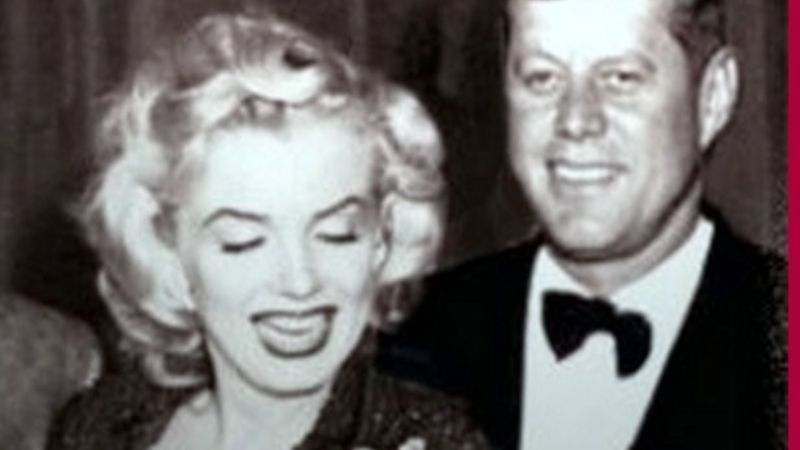 Marilyn Monroe y John F. Kennedy, en un video sexual