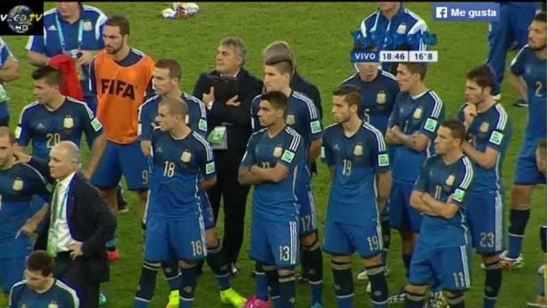 Argentina cayó en el alargue 1 a 0 con Alemania en la final