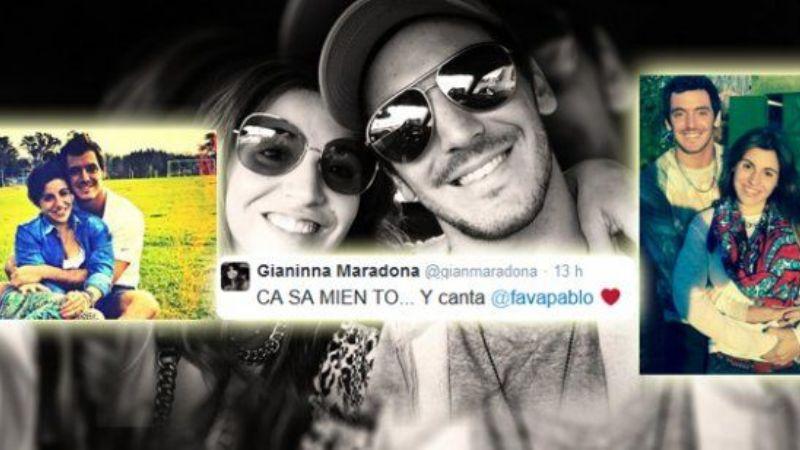 ¿Giannina Maradona anunció su casamiento en Twitter ...