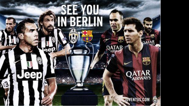 Juventus ya palpita la final de la Champions con Tevez y Messi