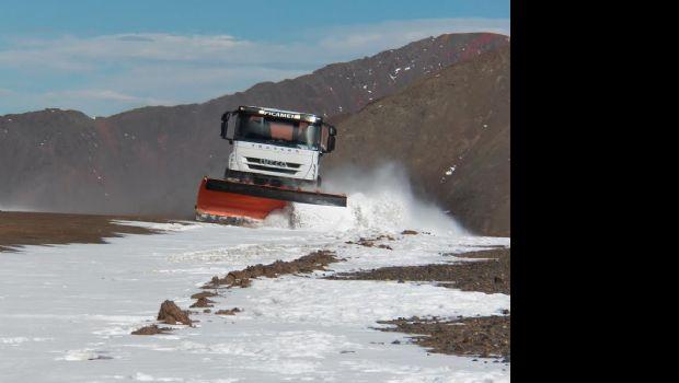 Barrick inicia el 12° operativo de invierno en la mina Veladero