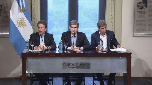 """Dujovne: """"Queremos que la inflación sea del 5% anual"""""""