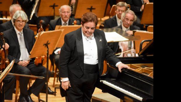 Bruno Gelber maravilló en el Juan Victoria junto a la Orquesta Sinfónica Nacional