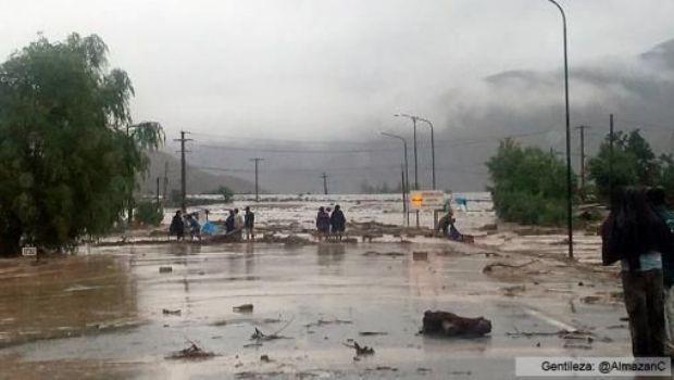 Un alud en Jujuy dejó dos muertos y 40 familias evacuadas