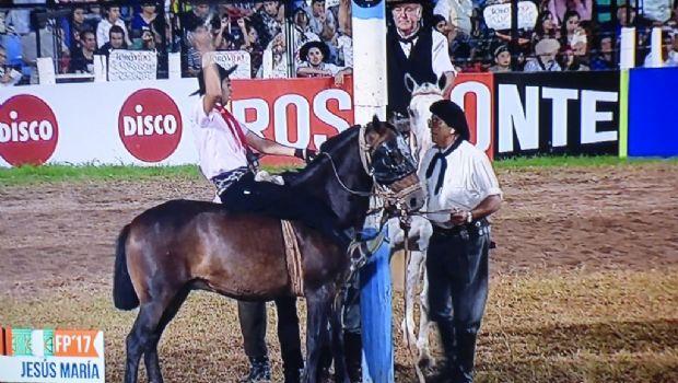 El sanjuanino José Marti defendió el título de campeón en Jesús María y espera los resultados