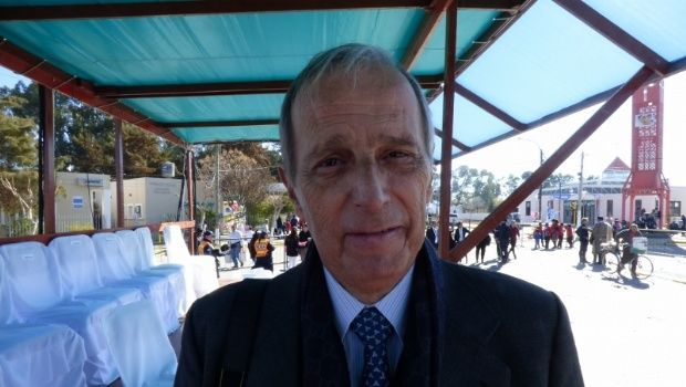 El descendiente de Laprida agradeció a los sanjuaninos por los festejos del Bicentenario
