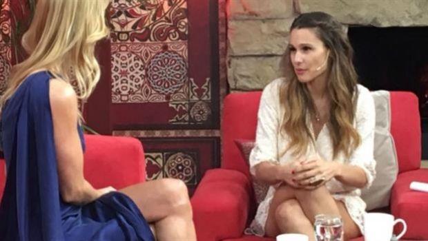 Nicole y Pampita limaron asperezas en la TV
