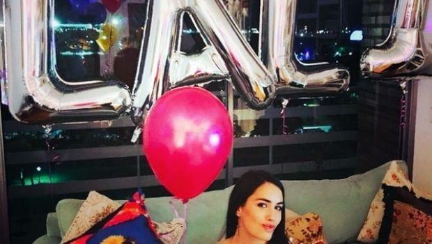 Lali Espósito festejó su cumpleaños con su novio y amigos