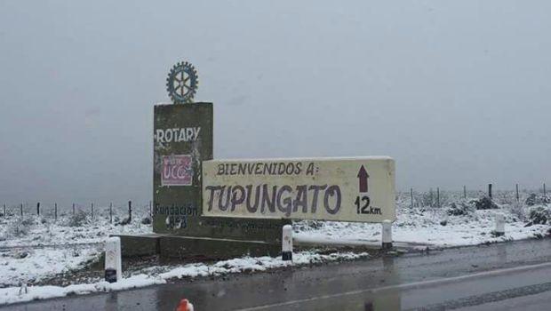 En Mendoza cortaron algunas rutas por acumulación de nieve