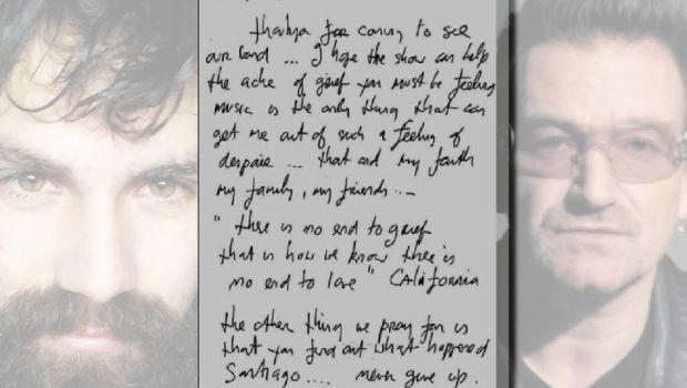 Bono le envió una carta a la familia Maldonado