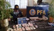 Desbarataron dos kioscos de venta de droga en Chimbas
