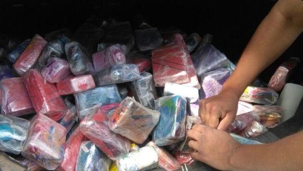 Secuestraron importante cargamento de marihuana y cocaína en Caucete