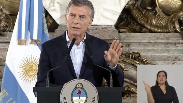 """Macri: """"vamos a cuidar a los jubilados"""""""