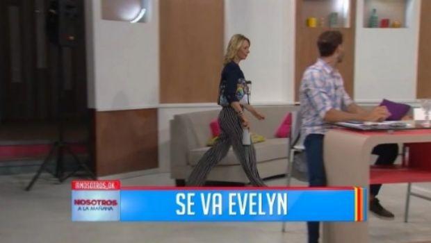 Una panelista agarró la cartera y abandonó el estudio en vivo