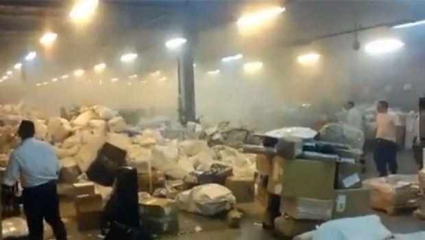 Explotó un paquete en el centro de distribución del Correo Argentino