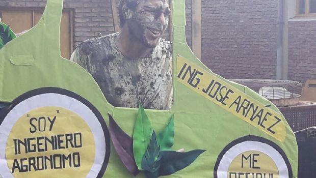 José Arnáez se recibió de ingeniero agrónomo en la UNSL