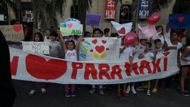 San Martín vs River, Solidario: desplegarán una bandera para conseguir un corazón para Maxi