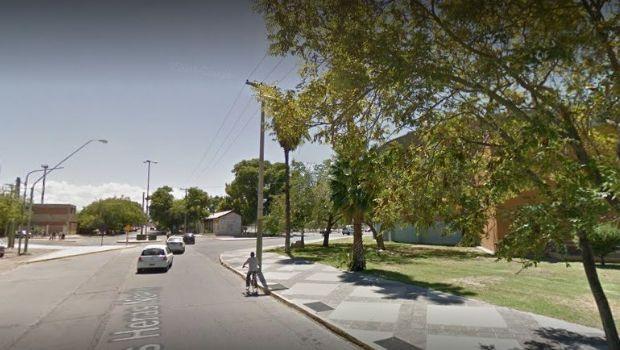 Un hombre resultó herido al caer de un colectivo en Capital