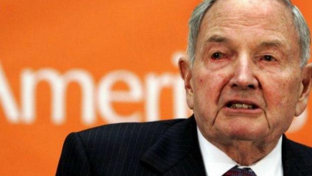 A los 101 años murió el multimillonario Rockefeller