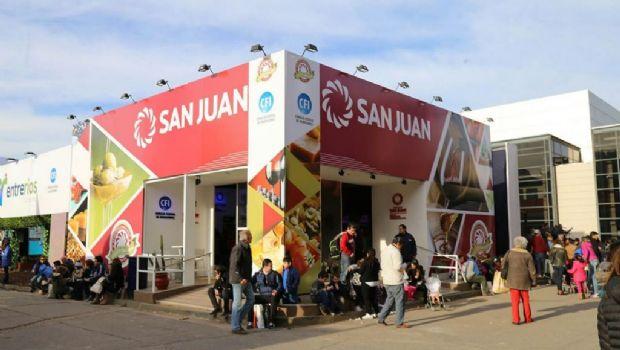 San Juan, presente en La Rural con un super stand