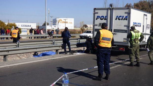 Un chofer de colectivo murió en un accidente en Circunvalación
