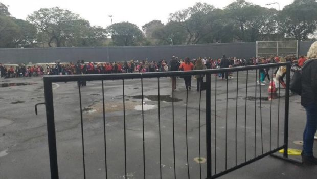 Evacuaron el Monumental por una amenaza de bomba