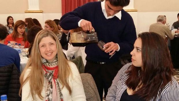 Con una degustación de cerveza, terminaron las jornadas de Cata en el Colegio Santa Lucía
