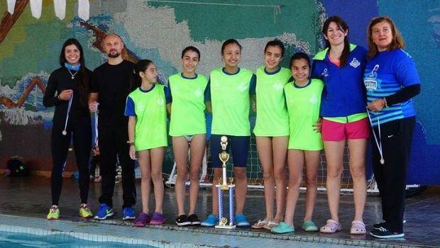 Ya están las 6 chicas que representarán a la provincia en nado sincronizado