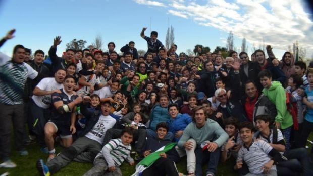Festejos: el San Juan RC ganó y ascendió en Mendoza