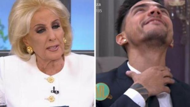La pregunta de Mirtha Legrand que hizo atragantar a Tyago Griffo