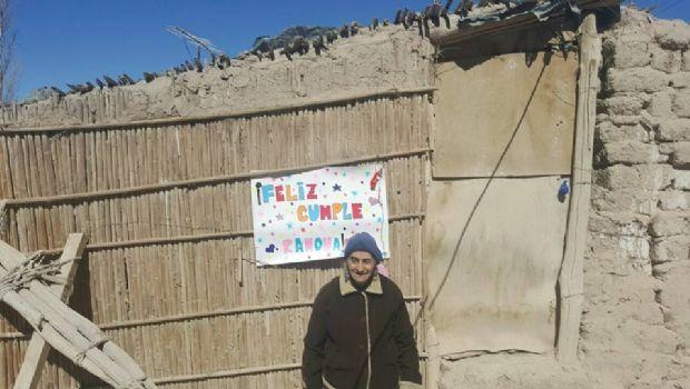 Ramona Oro, con 74 años cumplió el sueño de festejar su cumpleaños