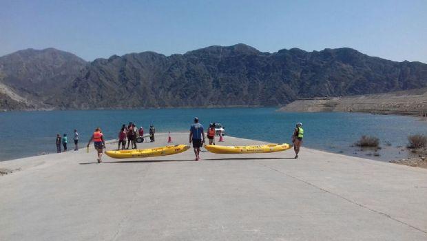 En el Parador Punta Negra, ahora, se puede disfrutar de kayak