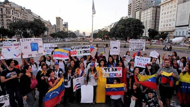 Casi 10 mil venezolanos llegaron a la Argentina en enero pasado