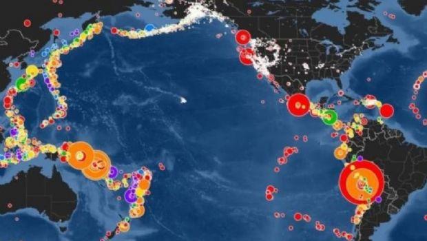 """Un twitts de la ONU advierte del peligro del """"Anillo de Fuego"""" que incluye a San Juan"""
