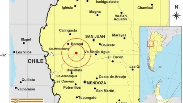 Un sismo de 4.4 de magnitud se registró en San Juan en la noche de este lunes