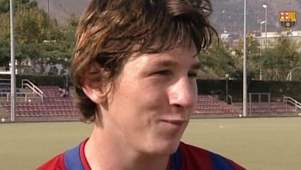 Furor por un video inédito de Leo Messi en las inferiores del Barsa