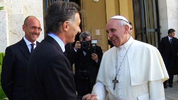 """Macri saludó al Papa por su quinto año como Papa: es un """"líder moral inmensamente querido"""""""